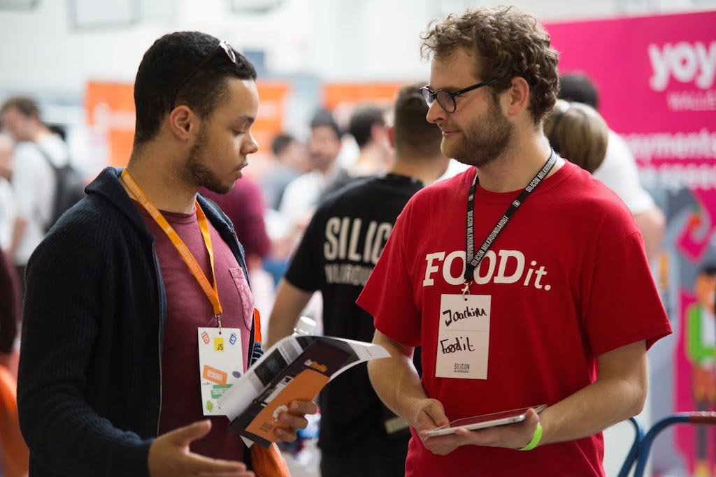 FOODit at silicon milk roundabout job recruitment fair
