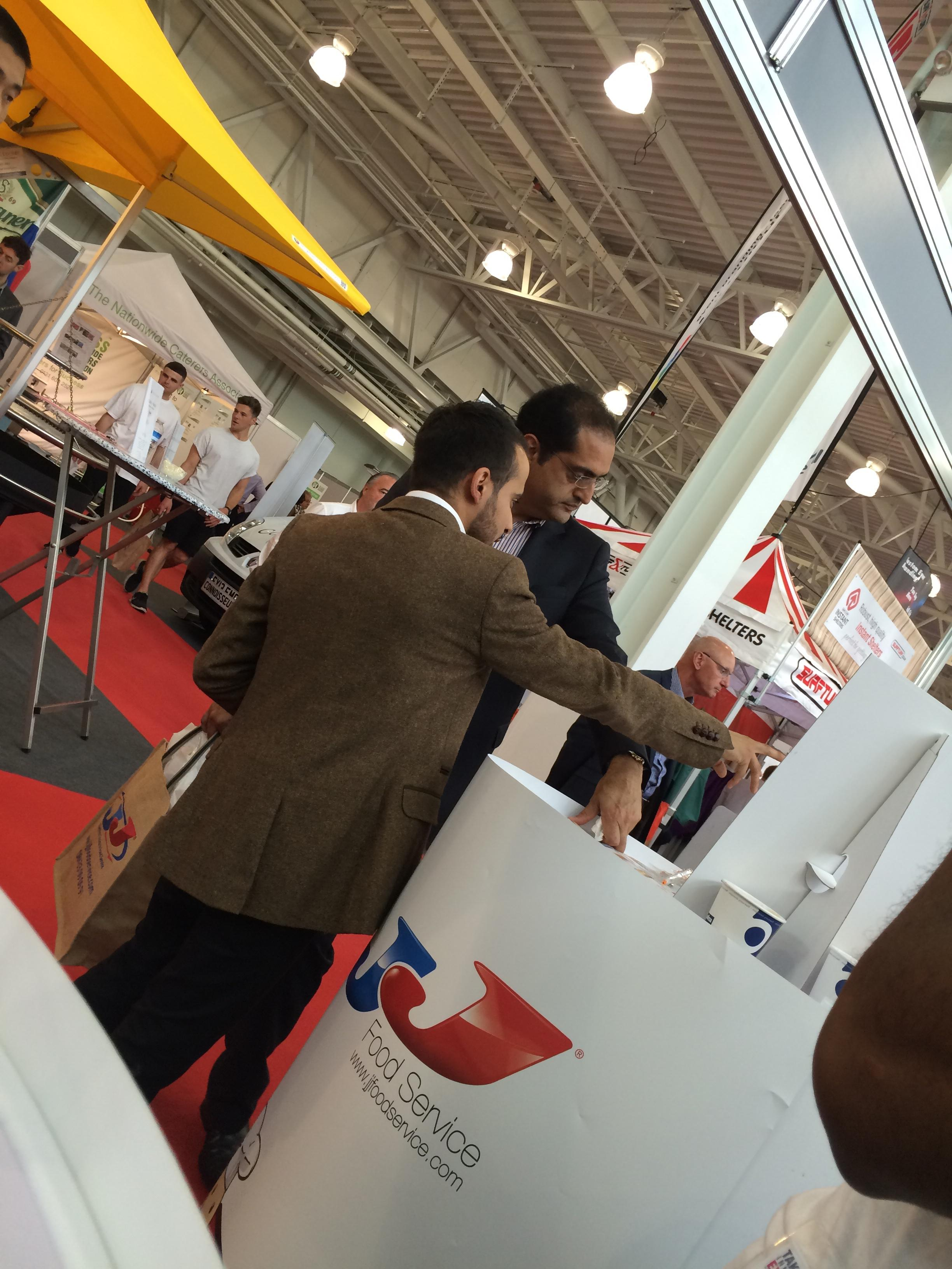 TakeAwayExpo2014 - Collaborating with our visitors